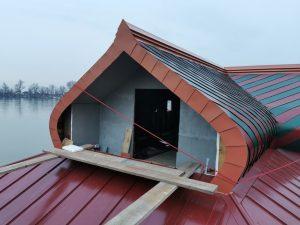 Izrada krovne konstrukcije u ruskom stilu